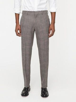 MEN Ludlow Slim-fit suit pant in Italian wool-silk-linen