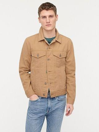 MEN Wallace & Barnes duck canvas trucker jacket