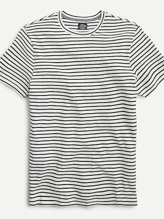 MEN Cotton-cashmere T-shirt in stripe