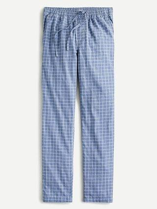 MEN Pajama pant in brushed cotton-linen