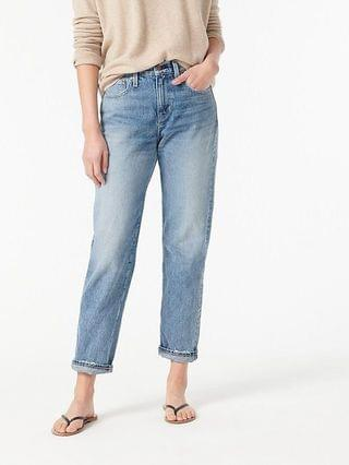WOMEN Slouchy boyfriend jean in Simsberry wash