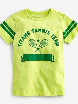 KIDS Kids' tennis racquet T-shirt