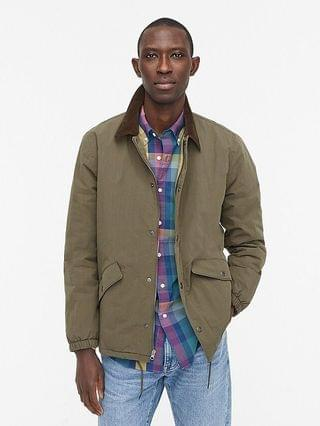 MEN Wallace & Barnes insulated coach's jacket with PrimaLoft