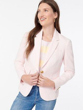 WOMEN Dalton blazer in Italian cotton-linen