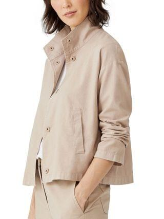 WOMEN Stand-Collar Jacket