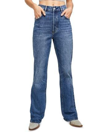 WOMEN French Girl Flared Jeans