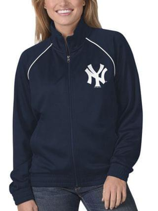 WOMEN New York Yankees Women's Power Play Track Jacket