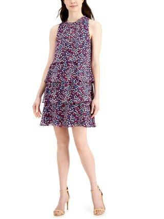WOMEN Printed Tiered A-Line Dress