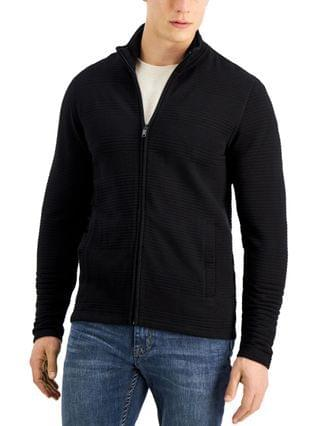 MEN Ottoman Knit Jacket Created for Macy's