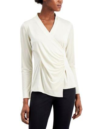 WOMEN Wrap-Style Top Created for Macy's