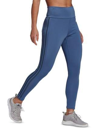 WOMEN Designed To Move High-Rise 3 Stripes Leggings