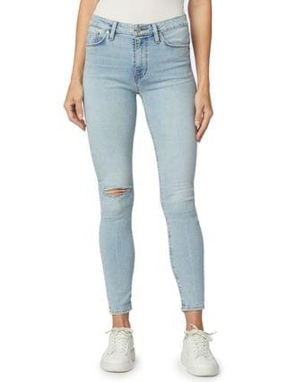 WOMEN Barbara Ripped Skinny Ankle Jeans