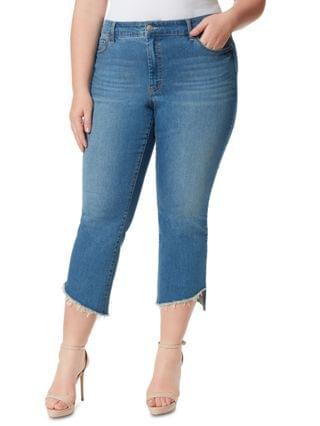 WOMEN Trendy Plus Size Adored Kick-Flare Jeans