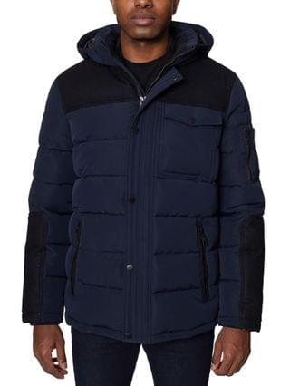 MEN Parka with Attached Hood
