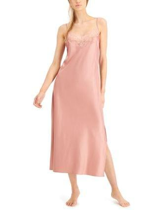 WOMEN INC Lace-Trim Slip Dress Nightgown Created for Macy's