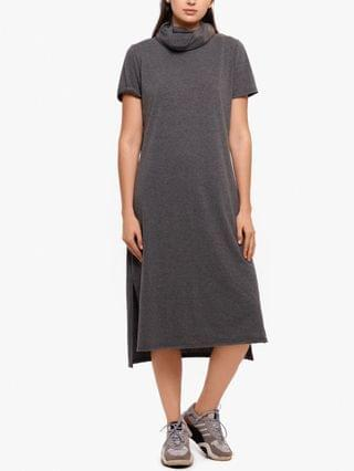 WOMEN Short-Sleeve Midi Sheath Dress & Attached Face Mask Created for Macy's