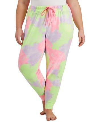 WOMEN Plus Size Multi-Color Jogger Pajama Pants Created for Macy's