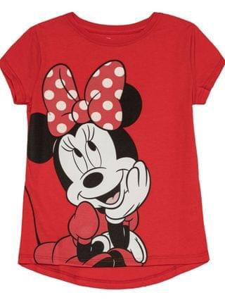 KIDS Little Girls Minnie Face Tee and Legging Set 2 Piece