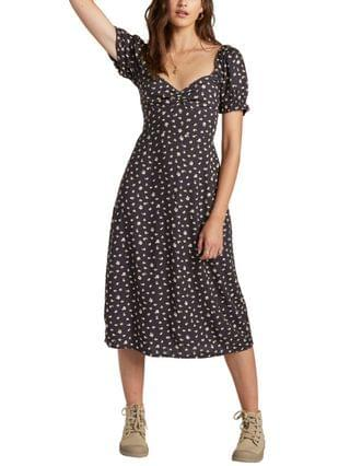 WOMEN Love letters Midi Dress