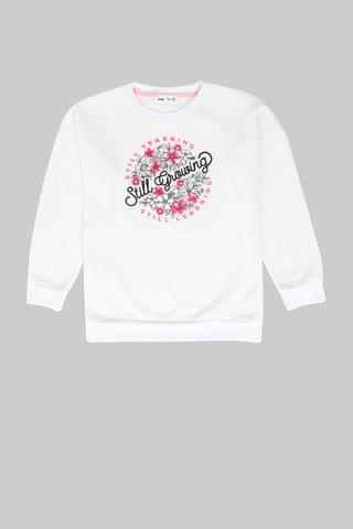 KIDS Oversized Graphic Print Pullover