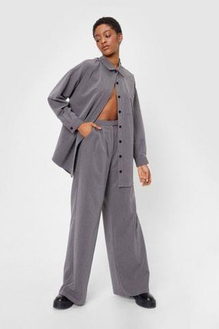 WOMEN Whatever Suits You Tailored Wide-Leg Pants