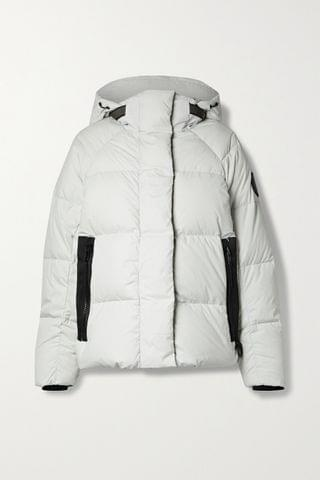 WOMEN CANADA GOOSE Junction hooded quilted shell down jacket