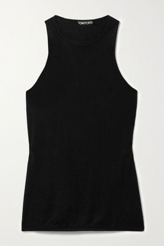 WOMEN TOM FORD Cashmere and silk-blend tank