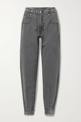 WOMEN TRE BY NATALIE RATABESI The Romy distressed high-rise tapered jeans