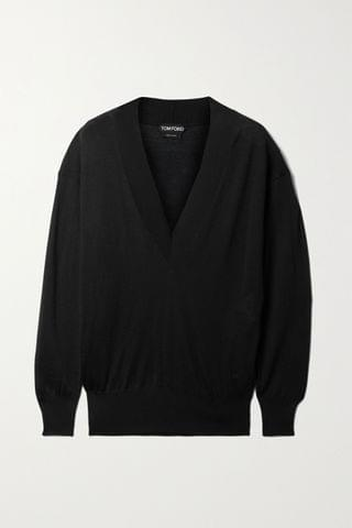 WOMEN TOM FORD Cashmere and silk-blend sweater