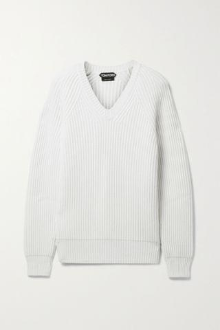 WOMEN TOM FORD Ribbed cashmere sweater