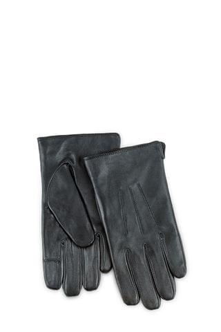 MEN Totes Mens 3 Point Leather Glove W Water Repellent Smartouch