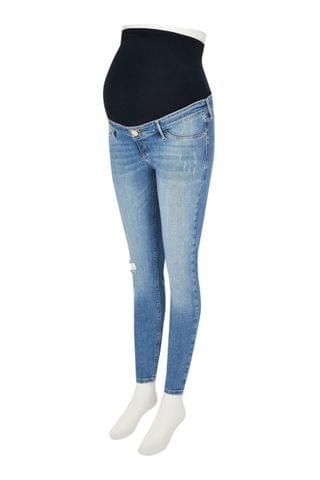 WOMEN River Island Molly Maternity Palm Over Bump Jeans