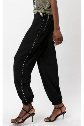 WOMEN Religion Utility Style Trouser With Stud Detailing