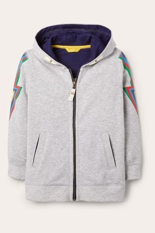 KIDS Boden Grey Out Of This World Hoody