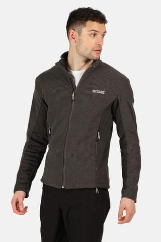 MEN Regatta Grey Highton Winter Full Zip Fleece