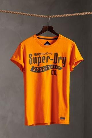 MEN Superdry Limited Edition One Colour T-Shirt
