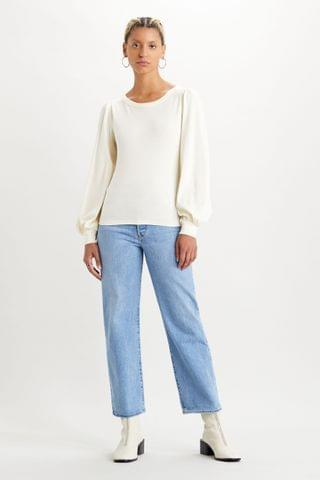 WOMEN Levi's Ribcage High Waisted Straight Fit Jeans