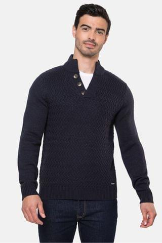 MEN Threadbare Chunky Knit Jumper
