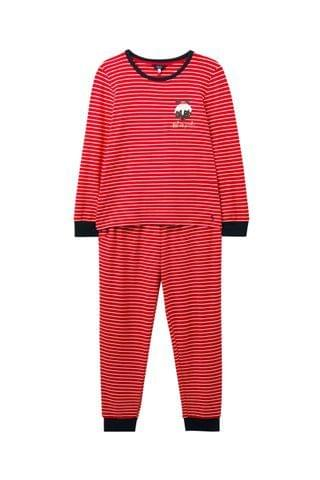 WOMEN Joules Red Sleepwell Christmas Family Jersey Set