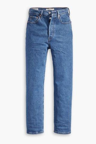 WOMEN Levi's Ribcage Straight Fit Jeans