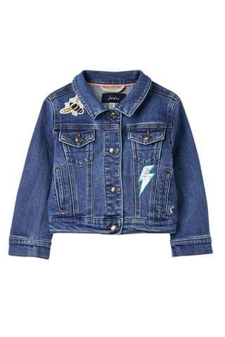 KIDS Joules Blue Fern Denim Jacket