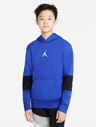 KIDS Big Kids' (Boys') Pullover Hoodie Jordan Therma
