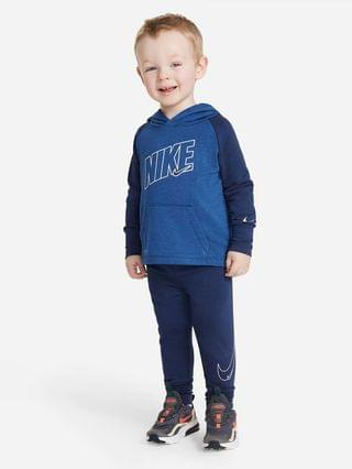 KIDS (12-24M) Hoodie and Joggers Set Nike Dri-FIT