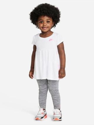KIDS (12-24M) Top and Leggings Set Nike