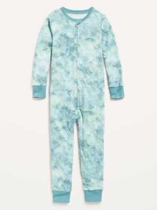 KIDS Printed Pajama One-Piece for Toddler & Baby