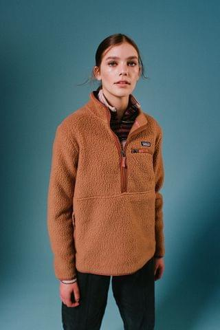 WOMEN Patagonia Retro Pile Fleece Sweatshirt
