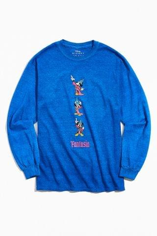 MEN Mickey Mouse Fantasia UO Exclusive Long Sleeve Tee
