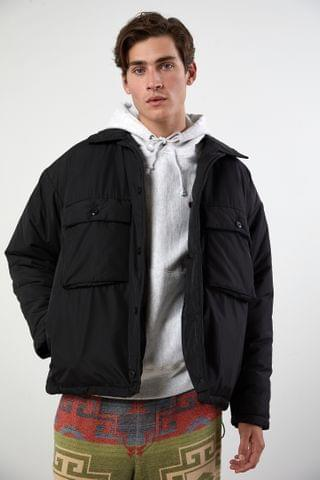 MEN BDG Nylon Padded Shirt Jacket