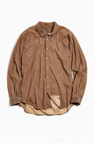 MEN Urban Renewal Vintage Bleached Flannel Shirt