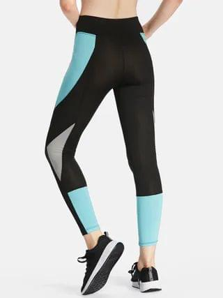 WOMEN Black Splicing Fashion Women Yoga Pants